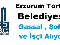 Tortum Belediyesi Gassal Şoför ve İşçi Alıyor