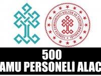 Kültür Bakanlığı  500 kamu personeli alımı yapacak