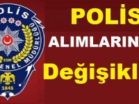 PMYO 2021 Yılı Polis alımında değişiklik yapıldı