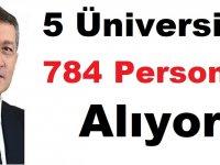 Kırklareli,Malatya,Konya,Antalya Üniversiteleri 784 Akademik Personel Alıyor