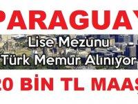Paraugay 20 Bin TL Maaşla iş ilanı - Yurtdışı iş ilanları 2019,