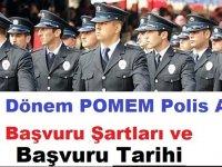 Son Dakika: 25. Dönem POMEM 10 Bin Polis Alımı Tarihi ve Başvuru Şartları
