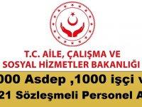 Aile Bakanlığı 4 bin 321 Devlet Memuru ve Asdep Memuru Alıyor