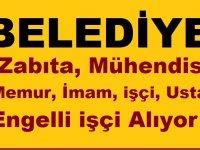 Doğubayazıt Belediyesi , Zabıta, Mühendis ,Memur,İmam, işçi,Usta, Engelli işçi Alıyor