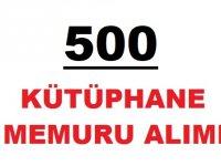 500 Kütüphane memuru alımı şartları nelerdir?