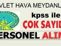 Devlet Hava Meydanları  83 Arff Memuru (İtfaiyeci) Alımı KPSS İle