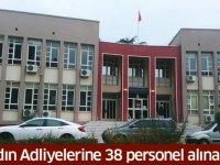 Aydın'da Adliyelere 23 Zabıt Katibi, 7 İcra Katibi, 8 Mübaşir alımı yapılacak.