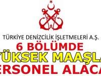Türkiye Deniz İşletmeleri Genel Müdürlüğü çok sayıda Mühendis Alıyor