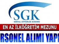 SGK İl Müdürlüklerine Kamu Personeli Alımı