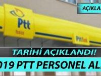 Flaş PTT 2019 Yılı Personel Alımı Tarihi Açıklandı