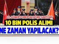 25. dönem POMEM polis alımı başvuruları
