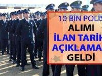 Flaş! 10 Bin Polis Alımı İlan Tarihi Açıklaması Geldi!