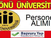 İnönü Üniversitesi KPSS puanı ile 41 kadrolu personel alımı