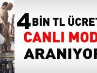 Cumhuriyet Üniversitesi sözleşmeli en az lise mezunu 4 bin tl maaşla canlı model alacak