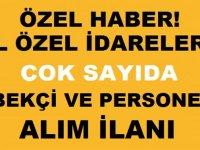 Siirt İl Özel İdaresi ve Zonguldak İl Özel İdaresi Bekçi Avukat motopomp ustası alımı iş ilanı,