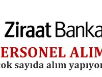 Ziraat Bankası 20 personel alımı iş başvuru şartları