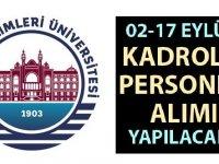 Sağlık Bilimleri Üniversitesi'ne KPSS'li ve KPSS'siz personel alımı