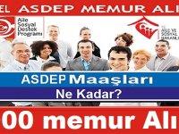 Aile Bakanlığı 1000 ASDEP Personeli alımı - 2020 Memur Personel Alımları