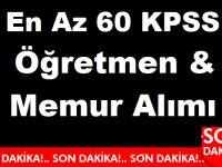 Tarım Bakanlığı'na En Az 60 KPSS İle Yeni Devlet Memuru Alımı