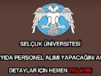 Konya Selçuk Üniversitesi Tam 251 Personel alacaktır