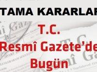 18 Eylül 2018 Atama kararları Resmi Gazete