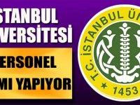 İstanbul Üniversitesi Sağlık Personeli Hemşire Alıyor