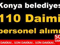 Konya belediyesi 110 Daimi Şoför personeli alımı