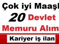 Türkiye İstatistik Kurumu iyi maaşlı 20 Devlet Memuru Alıyor