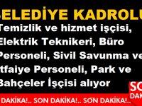 Bursa Kestel Belediyesi Daimi çok sayıda işçi personel alıyor
