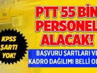 PTT 2020 Personel Alımları