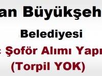 Van Büyükşehir Belediyesi Şoför Alımı kariyer iş ilanı
