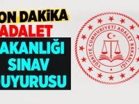 Adalet Bakanlığı Memur Alımı Başvuru Şartları 2020