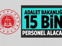 Adalet Bakanlığı 2020 Yılı 15 Bin Kamu Personeli Alacak