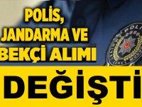 2021 Yılı Polis Alımlarında Değişiklik Yapıldı! 23 Ocak Resmi Gazete