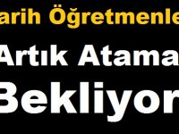 Tarih Öğretmenleri #2BinTarihciAta Atama Bekliyor!