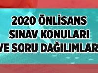 2020 KPSS Önlisans Soru Dağılımı Nasıl olur