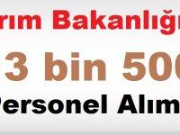 Tarım Bakanlığı 13.500 Memur Ataması Mecliste