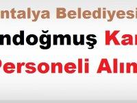 Antalya Gündoğmuş İş ilanı Kariyer ilanı