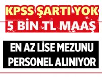 Kızılay 6 şehirde Şoför alımı yapılacak.