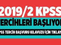 KPSS 2019/2 tercih kılavuzunu yayımlandı.