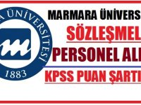 Marmara Üniversitesi 2020 Sözleşmeli Personel Alımları