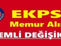 2020 EKPSS tercihleri için başvuru tarihleri
