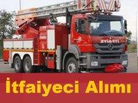 Kocaeli Belediyesi itfaiyeci Alacaktır!