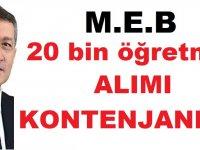 Müjde! MEB 2020 Sözleşmeli Öğretmen Atama Takvimi Yayınlandı!