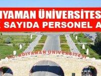 Adıyaman Üniversitesi 2020 Personel Alımları