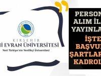 51 araştırma ve öğretim görevlisi alınacağı açıklandı.