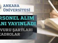 Ankara Üniversitesi Kadrolu 134 Hasta Bakım işçisi alacaktır