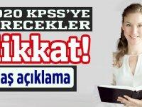 2020 KPSS'ye girecekler öğretmen adayları dikkat: MEB 2020 KPSS Duyurusu!