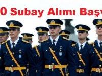 Subay 300 Askeri Personel Alınacaktır