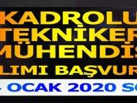 Belediye Yeni Kadrolu Tekniker ve Mühendis Alacak